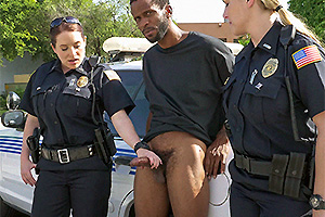 Black Patrol presents: We are the Law my niggas, and the law needs black cock!