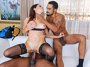 Eva Long Gets Fucked Long Dick Style image 6