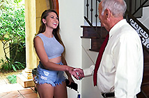 Ivy impresses with her big tits and ass image 1